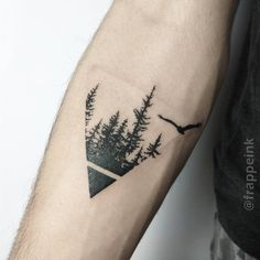 frappeinkDark triangles🔽Several Definitions 🎵 - Tattoo ideen - tattoos Hand Tattoos, Small Forearm Tattoos, Cool Small Tattoos, Small Tattoos For Guys, Wolf Tattoos, Forearm Tattoo Men, Unique Tattoos, Body Art Tattoos, Sleeve Tattoos