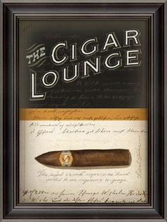 The Cigar Lounge MDF