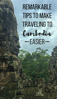 Heading to the culture-filled country of #Cambodia soon? Make sure to read up on these remarkable tips to make your traveling there easier! | #TravelTips #Asia