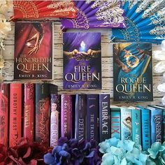 Happy Valentines Day to all of those who celebrate it!!!! . We are running a tour for Rogue Queen by Emily R. King right now and you can enter to win the entire series over on @xenatine account today!!! The giveaway is international so go and enter!!!!
