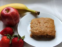 Grain Crazy: Moist Old Fashioned Oatmeal Bars for Breakast