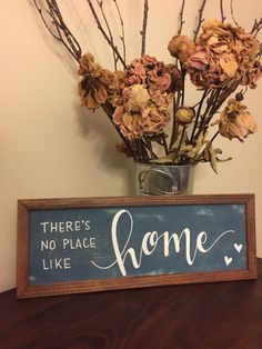 There Is No Place Like Home Framed Sign