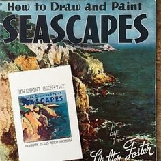 Tiny Painting: Walter Foster How To #watercolor #artwork #painting #tinypainting #waterfoster #DIY #seascape
