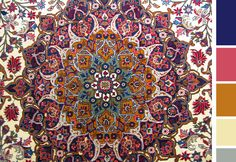 ❤❤❤ Copyrights unknown. Persian rug.