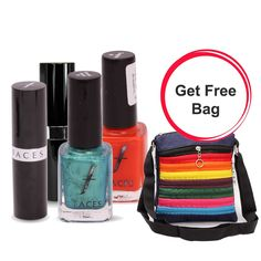 Deal of the Day....................  http://khoobsurati.com/deals/faces-lip-and-nail-combo-bag-free