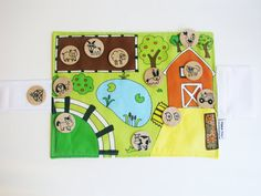 NEW  Flip Mat   Farm Edition  a Portable Pretend Play by MamaMayI, $35.00