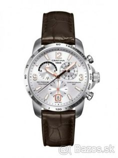 Certina Watch DS Podium Big Size Chrono GMT Quartz D Watch available to buy online from with free UK delivery. Affordable Watches, Expensive Watches, Sport Watches, Cool Watches, Men's Watches, Ring Verlobung, Luxury Watches For Men, Watch Brands, Quartz Watch