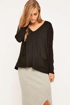 BDG Mia Pocket Pullover Jumper