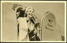 1940's Airline Stewardess...So cute!