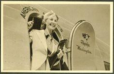 1940's Stewardess