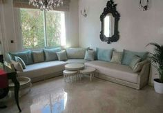 Beau Deco Salon Marocain, Salon Marocain Moderne, Salon Moderne, Sedari Marocain,  Déco Marocaine
