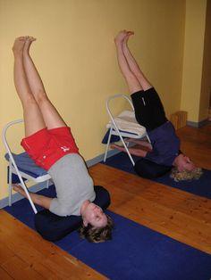 On today's yoga agenda? Iyengar! #Yoga #Iyengar    did this pose on Saturday! Pranayama workshop, so great