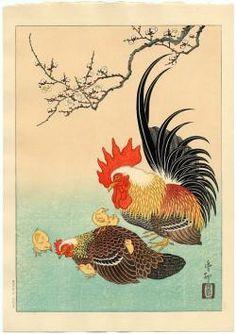 Thumbnail of Original Japanese Woodblock Print by Hoson