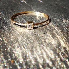14k princess cut diamond ring Vale Jewelry Princess Cut Diamonds, Gold Bands, Peridot, Diamond Engagement Rings, Diamond Cuts, Wedding Bands, Rings For Men, Jewels, Silver