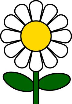 Free vector clip art of daisy.