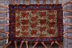 """The Iranian carpet Jalal Sepehr Born in 1968, Tehran,  Photo from the album of """" Knot"""