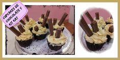 Buenas tardes. Que os parece merendar un Cupcake de CHOCOLATE Y KIT KAT. Si os apetece los tenéis en la tienda... Os pongo el link para que veáis mas cositas... http://misdulcespasiones.blogspot.com/2014/10/cupcakes-de-chocolate-y-kit-kat.html
