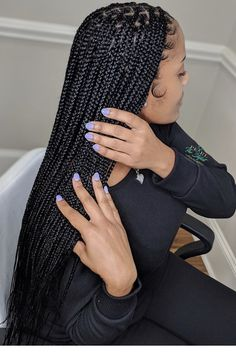 Box Braids Hairstyles, Braided Hairstyles For Black Women, Girl Hairstyles, School Hairstyles, Updo Hairstyle, Wedding Hairstyles, Ethnic Hairstyles, Hairstyles Videos, Bridal Hairstyle