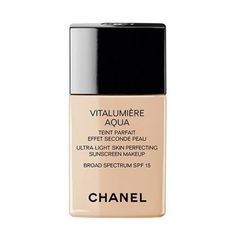$48 BUY NOW  All it takes is a few drops of Chanel's weightless liquid formula to spread across the entire face. An editor's favorite, it smooths skin instantly post-application for a flattering, natural illumination that leaves the complexion ultra hydrated.