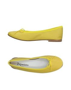 REPETTO Women's Ballet flats Yellow 7.5 US