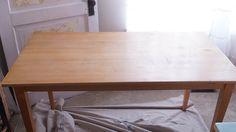 Rustic Farm Table-00647