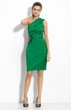 Love this color...Kathy from RHNJ wore this to the reunion show...it is also available to rent for NY on Rent the Runway!