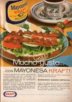 Mayonesa Kraft. Ad from 1967,
