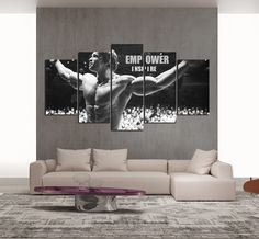 Properties Material: Cotton Polyester Availability: Framed (Framed comes stretched and is ready to hang on wall) Framed Sizes Available: Medium: Large: Extra Large: Arnold Schwarzenegger Muscle, Islamic Wall Art, Interior Walls, State Art, Canvas Frame, Canvas Art Prints, Creative Art, Home Art, Inspiration