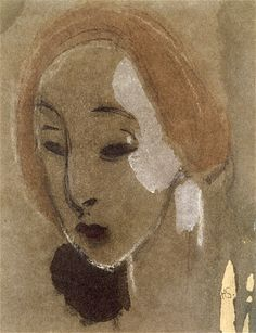 The Athenaeum - Portrait of a Young Woman (Helene Schjerfbeck - ) Helene Schjerfbeck, Paint Designs, Figure Painting, Mona Lisa, Arts And Crafts, Portraits, Illustrations, Modernism, Ranges