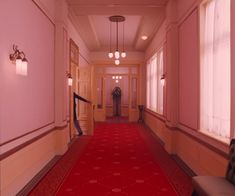 The Grand Budapest Hotel PINK WALLS
