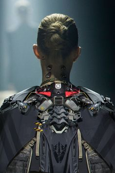 by minovo wang - Valhallan Nebula Cyberpunk Girl, Arte Cyberpunk, Cyberpunk Fashion, Cyberpunk 2020, Steampunk Fashion, Gothic Fashion, Character Concept, Character Art, Concept Art