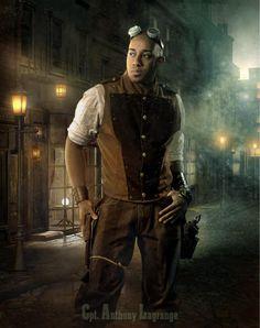 Steampunk Man by JtotheOtotheE Steampunk Movies, Mode Steampunk, Steampunk Cosplay, Steampunk Clothing, Steampunk Fashion, Asian Steampunk, Renaissance Clothing, Gothic Fashion, Neo Victorian