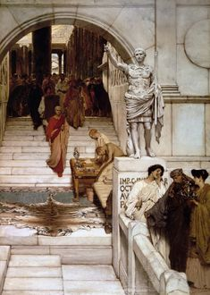 Lawrence Alma-Tadema, An Audience at Agrippa's