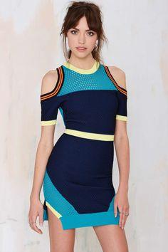 Nasty Gal Good Sport Cutout Dress