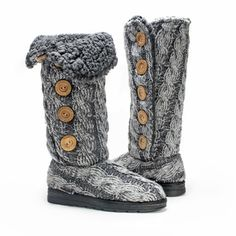 Muk Luks Knit Boots