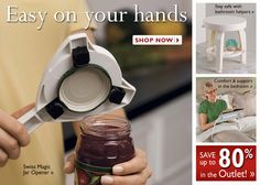Independent Living Aids - Gift Ideas for Seniors Independent Living Aids, Industrial Design Sketch, Mobility Aids, Body Tissues, Crutches, Jar Lids, Good Grips, Canes, Disability