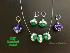 Beaded Beads DIY - YouTube