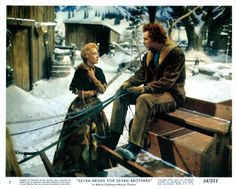 Jane Powell & Howard Keel in 7 Brides for 7 Brothers Golden Age Of Hollywood, Classic Hollywood, Hollywood Glamour, Howard Keel, Jane Powell, Nerd Herd, Cinema Film, Star Pictures, Les Miserables