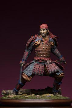 Samurai by mr. Ronin Samurai, Samurai Swords, 3d Fantasy, Fantasy Armor, Katana, Larp, Samourai Tattoo, Ghost Of Tsushima, Japanese Warrior