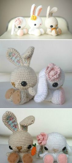 Crochet baby bunny slippers free patterns crochet baby easter free easter crochet patterns the best collection negle Gallery
