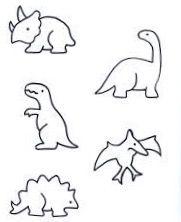 Dino stick n poke