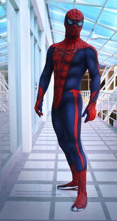 The Amazing Spiderman Costume by *TenshinoSekai on deviantART; cosplay