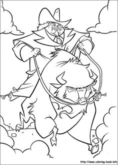 Home on the Range coloring picture