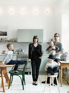 beautiful home Emma Persson Lagerberg and Family