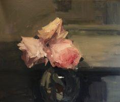 Original artwork from artist Parastoo Ganjei on the Daily Painters Gallery Flower Art, Art Flowers, So Little Time, Painting Inspiration, Still Life, Amazing Art, Beautiful Flowers, Fine Art, Wallpaper