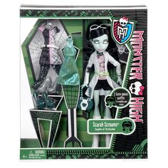 Monster High Scarah Screams Fashion Doll Exclusive New   eBay