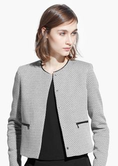 ccf22cd710099 Geometric pattern jacket - Women