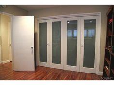 Love these closet doors!