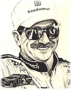 Dale Earnhardt, from my old Squidoo site, Legend 3.  #DaleEarnhardtMemorial http://www.pinterest.com/jr88rules/dale-earnhardt-memorial/