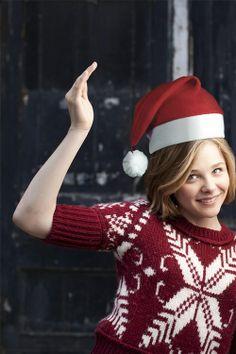 Chloe Moretz Christmas